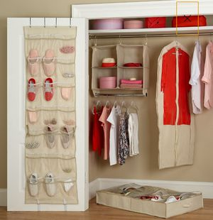 5-Piece Ticking Stripe Closet Organizer Set for Sale in Los Angeles, CA