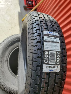 New Trailer tires ST 225-75R15 for Sale in Indianapolis, IN