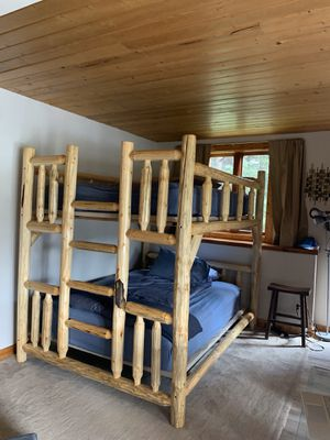 Queen bunk bed adult for Sale in Winter Park, CO