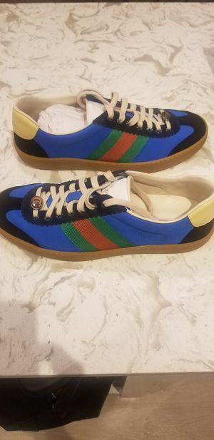 "Gucci G74 Nylon Sneaker ""Bright Blue"" Gucci Size 8 Fits 9 or 9.5 Men for Sale in Forest Heights, MD"