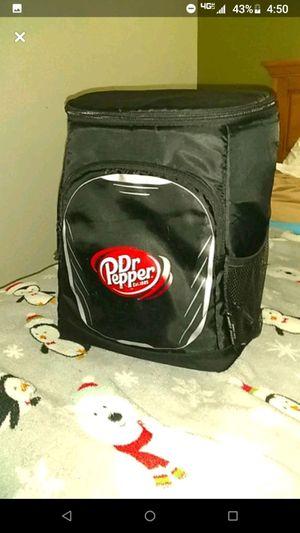 Vintage Dr Pepper cooler/backpack for Sale in Bloomer, WI