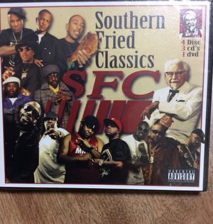 3 CDs DVD rap Music Videos KFC for Sale in San Francisco, CA