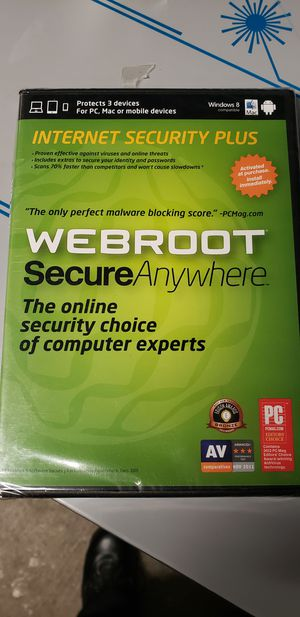 web root secure anywhere brand new for Sale in Methuen, MA