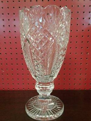 Waterford Tall Crystal Vase for Sale in Lynnwood, WA