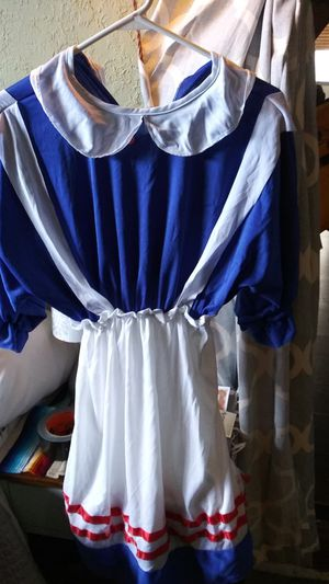 Raggedy Anne costume size med-large for Sale in St. Petersburg, FL