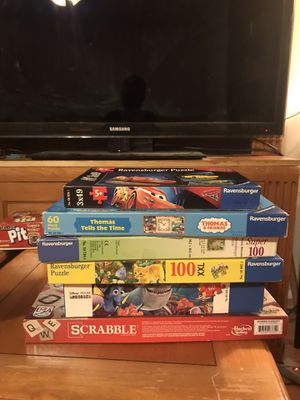 Board games puzzles for Sale in West Palm Beach, FL