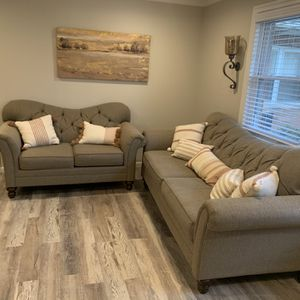 2- Piece Set- Taupe Color for Sale in Teaneck, NJ