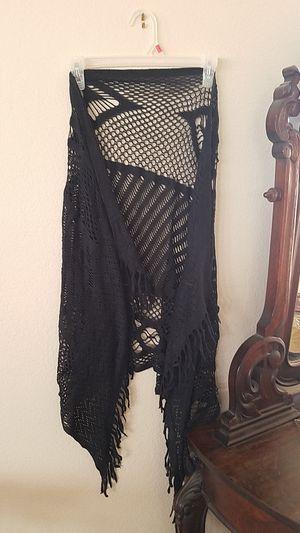 Black shawl for Sale in Las Vegas, NV