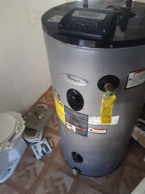 Whirlpool 50 gallon hot water heater for sale for Sale in Oliver Springs, TN