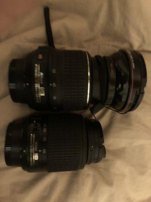Nikon af-s nikkor 18-55mm 1 3.5-5.6g ii Nikon AF-P DX Nikkor Zoom Lens for Nikon F - 18mm-55mm - F/3.5-5.6 Macro lens for Sale in McLean, VA