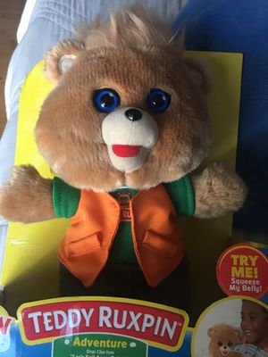 Teddy Ruxpin hug 'n sing adventure plush for Sale in South Gate, CA
