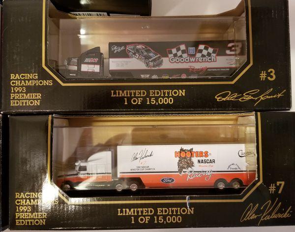Diecast cars NASCAR transporter