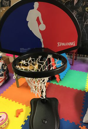 Kids Basketball Spalding Hoop for Sale in Naperville, IL