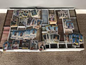 6,200+ 1980 s - early 1990s Baseball Card Lot Bo Jackson Don Mattingly Barry Bonds rookies + for Sale in Las Vegas, NV