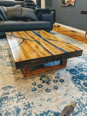 Custom handmade coffee table for Sale in Chicago, IL