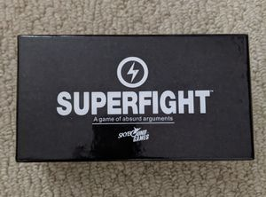 Superfight - Board Game for Sale in Falls Church, VA