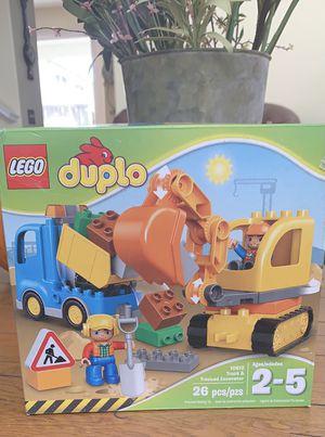 Brand New Duplo Lego Box Tractor Dump Truck for Sale in Murrieta, CA