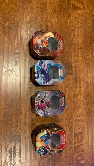 Collectible Empty Pokemon Tins for Sale in Los Angeles, CA