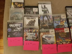 PS3 game lot for Sale in Quincy, IL
