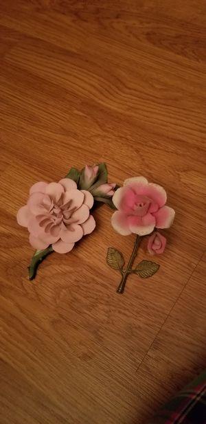 Porcelain rose set for Sale in Elk Grove, CA