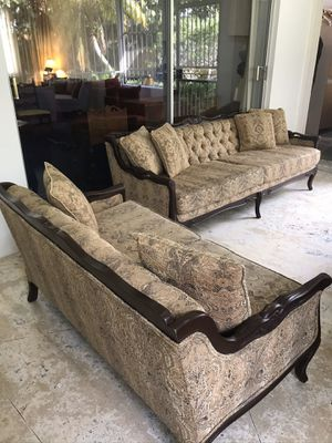 Living Room Set Sofas (3 Piece) for Sale in Miami, FL