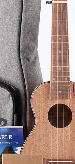 Soprano Ukulele for Beginners 21 Inch Ukelele Musical Instruments for Kids Mahogany Small Hawaiian Guitar with Carbon Strings Protective Bag and Begi for Sale in West Covina,  CA