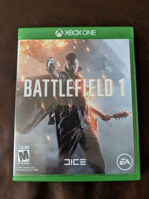 Battlefield 1 Xbox one for Sale in Leesburg, VA