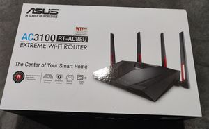Asus RT-AC88U Dual Band Extreme WiFi Router - Great for Gaming or Work - Almost New! for Sale in Minooka, IL