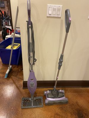 Shark steam cleaner and vacuum for Sale in Canton, GA
