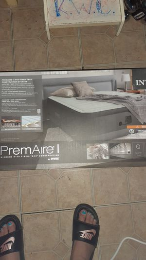 Intex premiere air mattress never been open it's top of the line for Sale in Indianapolis, IN