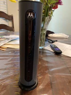 Motorola modem mg7315 for Sale in Spring, TX