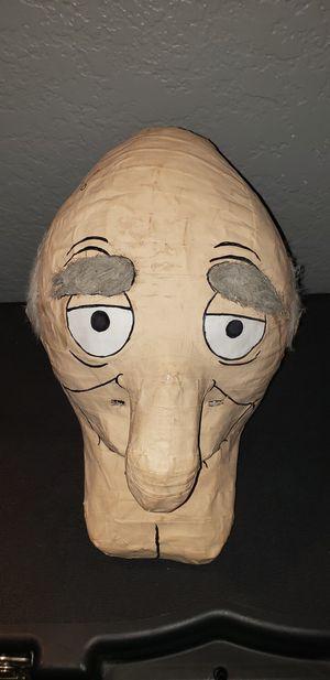 Paper mache Herbert mask for Sale in Baldwin Park, CA