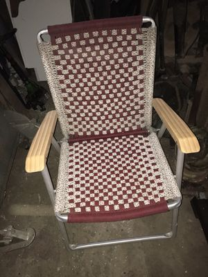 Hand woven lawn chairs for Sale in Kingston, NY