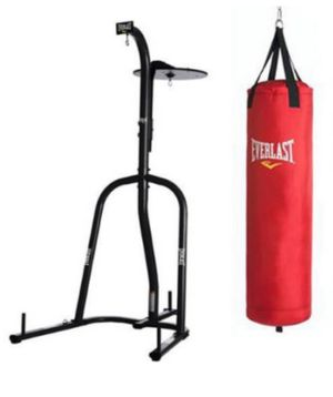 Heavy Bag Stand with Speed Bag Attachment for Sale in Peabody, MA