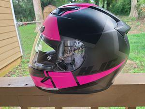 HJC woman motorcycle helmet for Sale in Austell, GA