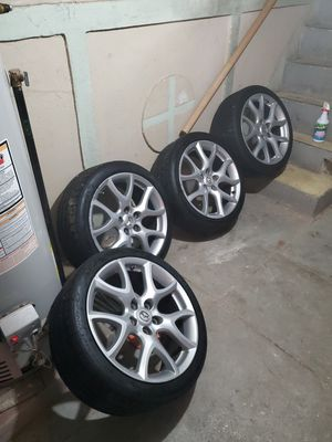 18inch MAZDA wheels with low pros. for Sale in Elsmere, DE