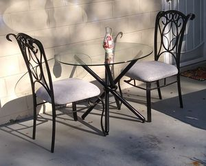 CUTE DINNER SET (TWO CHAIRS) for Sale in Tampa, FL