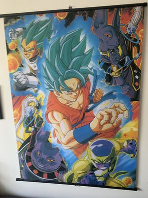 Dragonball Z Super Wall Scroll for Sale in Orlando, FL