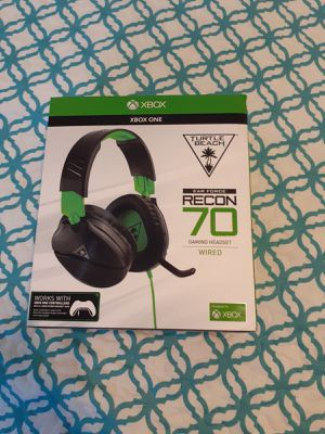 Xbox one wired headset for Sale in Lake Wales, FL