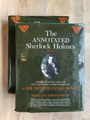The Annotated Sherlock Holmes (Vol. 1&2) 1967 for Sale in Frisco, TX