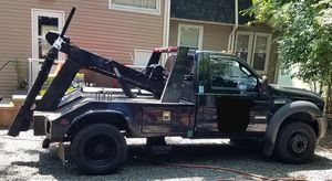 2007 Ford F450 6.0 self loader tow truck/wrecker for Sale in North Plainfield, NJ