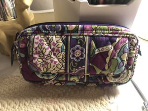 Vera Bradley pouch/ wallet/ mirrored make up bag for Sale in Cambridge, MA