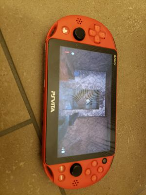 Ps via 2000 ps vita slim PSP Atari Nintendo 64 super Nintendo gameboy color game boy advance ... all in a ps vita for Sale in Dallas, TX