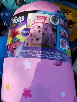 Trolls Bed in A Bag for Sale in Vancouver,  WA