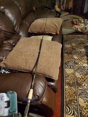 Vendetta fishing rod Baitcaster for Sale in Kings Mountain, NC