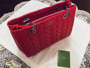 NWT Kate Spade Brier Lane Meena Quilted Leather Bag Red for Sale in Portland, OR