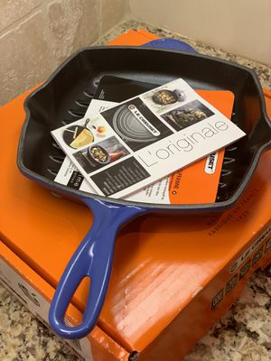 Le Creuset Square Skillet for Sale in Houston, TX
