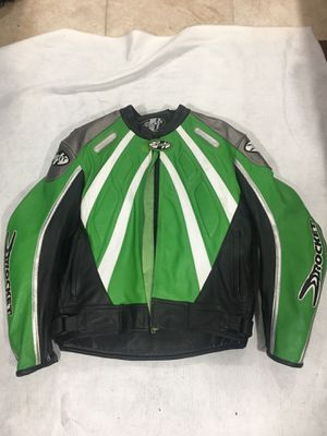 Joe rocket leather motorcycle jacket for Sale in Passaic, NJ