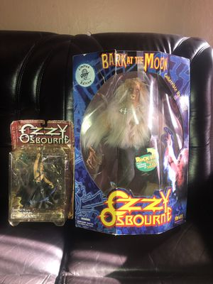 Vintage 1999 Fun 4 All Ozzy Osbourne Bark At The Moon Action Figure Doll NIB NOS for Sale in Hayward, CA