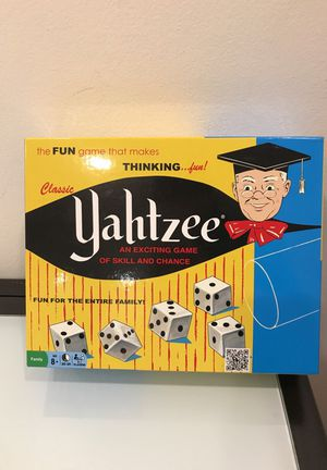 Yahtzee fun game kids love to play for Sale in Los Angeles, CA